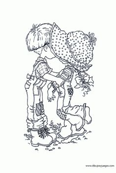 sarah kay coloring pages Sarah Key, Holly Hobbie, Sarah Kay Imagenes, Embroidery Art, Embroidery Patterns, 4 Image, Valentines Day Coloring Page, Hobbies For Adults, Illustration