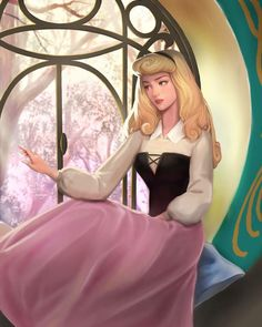 Disney Princess Aurora, Disney Princesses And Princes, Disney Princess Drawings, Disney Drawings, Disney Artwork, Disney Fan Art, Disney Dream, Disney Love, Ghibli