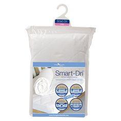 Living Textiles Baby Smart-Dri Waterproof Mattress Protector - Crib