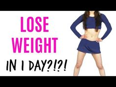 How to lose weight in 5 MINUTES?! - YouTube
