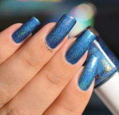 FUN LAQUER DAZZLING BLUE 3