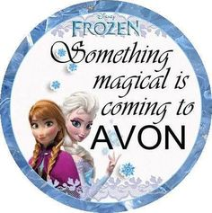 Frozen is coming to AVON this holiday season! Shop online for exclusive offers! www.youravon.com/ashleymva