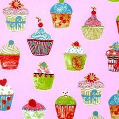 Cupcakes Strawberry Vinyl Coated Oilcloth Tablecloth  http://www.justwipe.co.uk/vinyl-coated-tablecloth/cupcakes-strawberry-gloss-vinyl-coated-tablecloth-selectable-length/