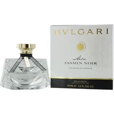 - Description Bvlgari Mon Jasmin Noir Eau De Parfum Spray 2.5 oz - An elegant floral fragrance with fragrance notes of lily of the valley, jasmine, and musk. A truly a must have product! 100% Authenti
