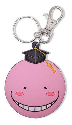Assassination Classroom Key Chain - Koro Sensei Pink @Archonia_US