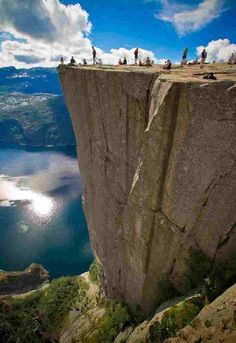 10. Pulpit Rock in Norway