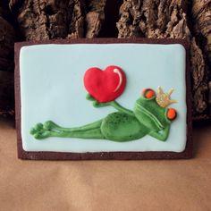 will U be my valentine? Spice Cookies, Fancy Cookies, Cut Out Cookies, Cute Cookies, Frog Cookies, Cupcake Cookies, Sugar Cookies, Valentines Day Cakes, Valentine Cookies