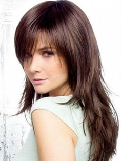 choppy layered hairstyles with bangs - Google Search