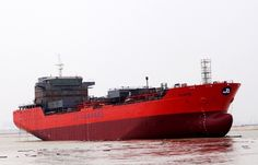 The Biggest Stainless Steel Chemical Tanker Ever Built in Asia Launched in Mingde Heavy Industry
