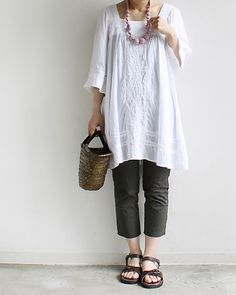 Simple comfortable outfit.