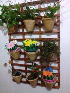 painel para  floreira jardim vertical imperdível!!!