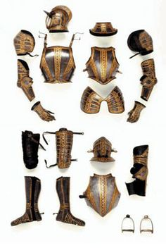 Armour of Lord Buckhurst, the only full suit of English armour in the Wallace Collection, one of the finest surviving 16th-century English armours in the world, probably made around 1587, in the Greenwich workshops established by Henry VIII between 1511-13, at a time when the German, Italian and Flemish masters controlled the bulk of the armour-making industry in Europe. By the second half of the 16th century the armourers at Greenwich ranked as their equals in armour-making skill and design.