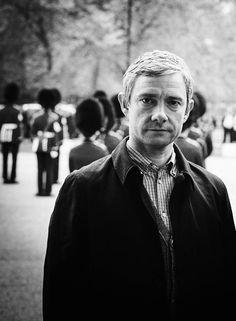 Dr. John  Watson (Martin Freeman).