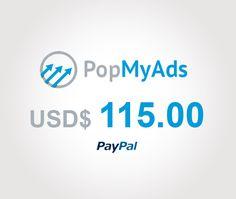Nuevo pago de PopMyAds: $USD 115