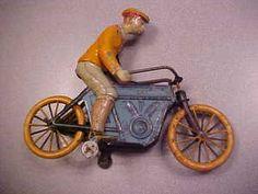 Kico German Motorcycle Twin Toy Wind Up   eBay