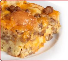 Breakfast for dinner-- 2 recipes for breakfast casseroles that make great make-ahead dinners.