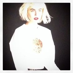 #etiennejeanson #couture #sweatshirt #collection #paris #cotton #white #gold #instantanésdecollection  #luxe #fashion #france #ootd #blond #shoot #wedding #mode #model #girl #pfw #anastasia #summer #scotland