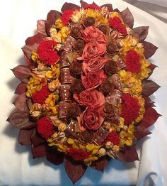 Deep rich fall tones in Biedermeier style Mohican Flowers Cooperstown