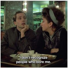 And I thought I had precocious Alzheimer.. Les nuits de la Pleine Lune, Eric Rohmer (1984) Full Moon in Paris