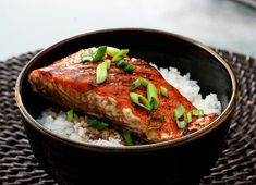 Salmon Teriyaki is a well known Japanese dish which is a sweet teriyaki glaze for marinating the salmon. Directions: Mix all the ingredients for the sauce, except for the 2 tsp of sugar. Add to a pan and heat to dissolve sugar. Remove and cool for 1 hour. Place fish in a dish and pour […]