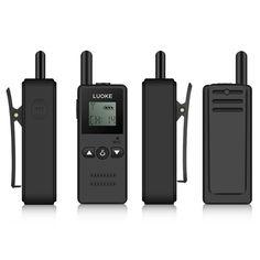 KALAOD V-8 Mini Walkie Talkie 16 Channel 400-470MHz FM Transceiver One Way Radio For Hotel
