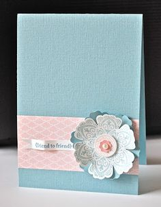 Stampin' Up ideas and supplies from Vicky at Crafting Clare's Paper Moments: Three Minute Thursday Mixed Bunch