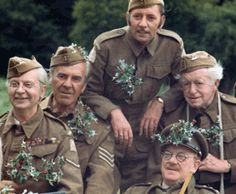Courtesy of David Croft, 2009 Dad's Army, Home Guard, Bbc Tv Series, Boys Are Stupid, British Comedy, Tv Presenters, Classic Tv, Comedians, Bobs