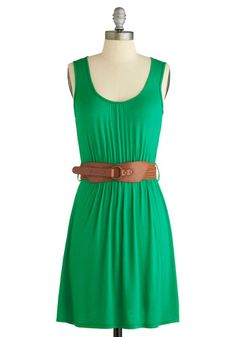 i've really been liking green things lately. Cute Dresses, Summer Dresses, Indie Outfits, My Favorite Color, Modcloth, Summer Days, Women Empowerment, Lazy, Grass