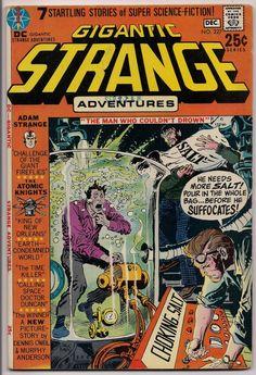 STRANGE ADVENTURES #227, Adam Strange, Atomic Knights,Gene Colan, Murphy Anderson, Sid Greene, Gil Kane,Illustrated Sci Fi Space Anthology