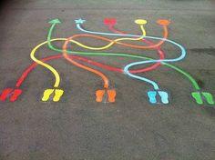 Indoor Playground For Kids – Playground Fun For Kids Playground Painting, Playground Games, Playground Flooring, Inside Playground, Indoor Playground, Toddler Playground, Preschool Playground, Natural Playground, Playground Design