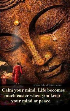 calm keep mind at peace