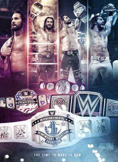 Wrestling Live, Watch Wrestling, Wwe Seth Rollins, Seth Freakin Rollins, Seth Rollins Wallpaper, Daniel Bryan Wwe, Wrestlemania 35, Eddie Guerrero, Black Cat Tattoos