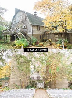 The Blue Dress Barn in Benton Harbor, Michigan