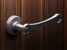 Wrench door handle