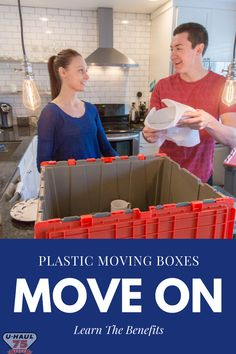 Plastic moving boxes can help keep your move safe from mother nature and are eco-friendly. Moving Supplies, Packing Supplies, Small Colleges, Planning A Move, Carry Back, Vans Store, Professional Movers, Moving Boxes, Corrugated Box