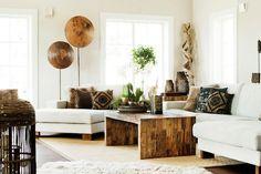Consigue un salón étnico en tu casa!