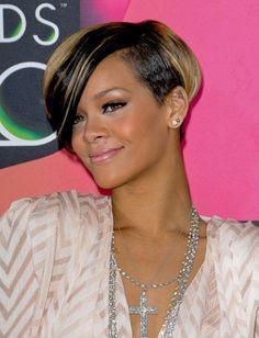 Pictures : Short Bobs for Black Women 2013 - Rihanna Short Bob Haircut