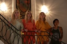 COULD THERE BE ANOTHER CHANEL? Repin, comment, or like if you're theorizing about Scream Queens