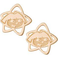 Nickelodeon 10kt Gold Dora the Explorer Stud Earrings