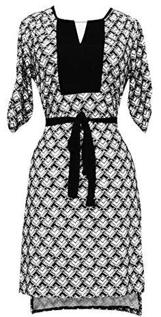Peach Couture Women's Geometric Square Hi Low Mid-Length Shift Dress (Small, Black and White) Peach Couture http://www.amazon.com/dp/B00M0A2JKW/ref=cm_sw_r_pi_dp_51glvb1X9D9X2