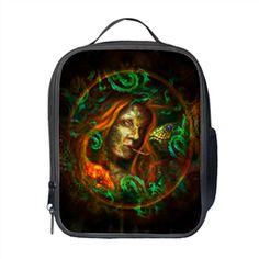 Medusa Behind The Leaves! Selling Online, Medusa, School Bags, Backpacks, Dark, Creepy, Gothic, Stuff To Buy, Leaves