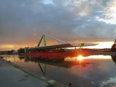 Odins Bro som er en svingbro der går over Odense kanal.