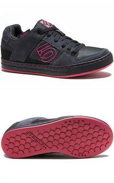 8e42ee1b03c Women 158987  5225-080-P Five Ten Women S Freerider Flat Pedal Shoe (Black  Berry) -  BUY IT NOW ONLY   99.9 on eBay!