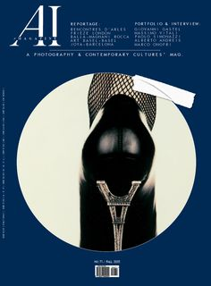 The 71st issue's cover is dedicated to Giovanni Gastel.  Donna, 1992 (detail)