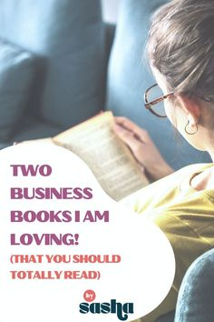 Take a look at these two business books I am absolutely in LOVE with! If you're looking for some quick, easy reads that help with business mindsets, these two business books are it. Try out one of these business books, you might find it helpful!