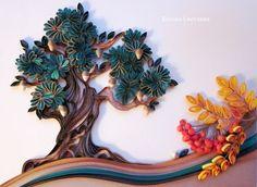 Quilled Tree - by: Svetlana Belova