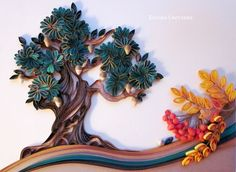 Quilled Tree - by: Svetlana Belova