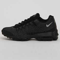 Nike Air Max 95 Ultra JCRD   Black Silver . 2015. 749771-001. 5b3414f73ea0e