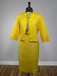72bf00bd00 Vintage 1950s Early 60s CALL ME LOLA Yellow by RedLabelVintage