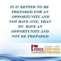 #Voicecription - Today's #quote